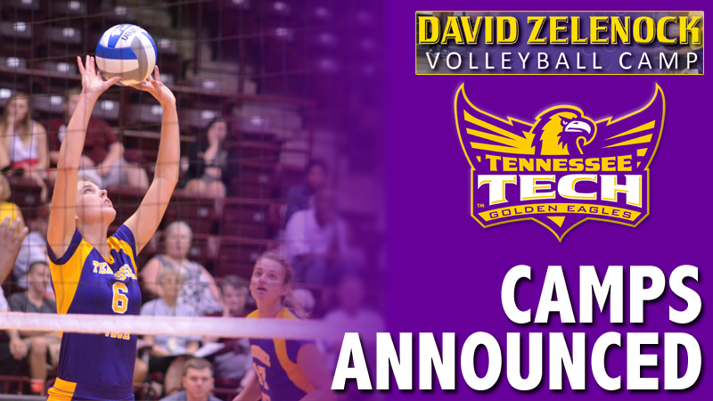 Tennessee Tech volleyball team announces its summer camp schedule