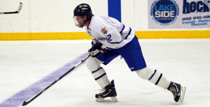 Men's Hockey swept by No. 4/3 UW-Eau Claire