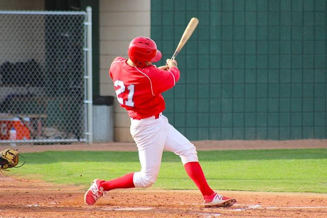 #5 Mesa Thunderbirds use long ball to fuel sweep of Eastern Arizona