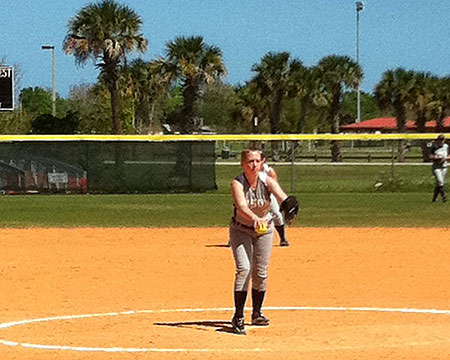 Gallaudet bats turn cold in Florida heat
