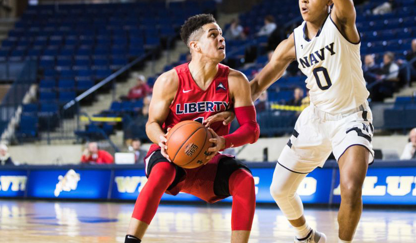 Liberty's Bench Sparks Win at Navy; Flames Move to 6-1