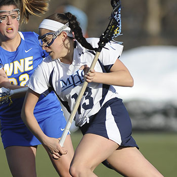 Kilburn Lifts Lacrosse to 13-12 4OT Victory Over Emerson