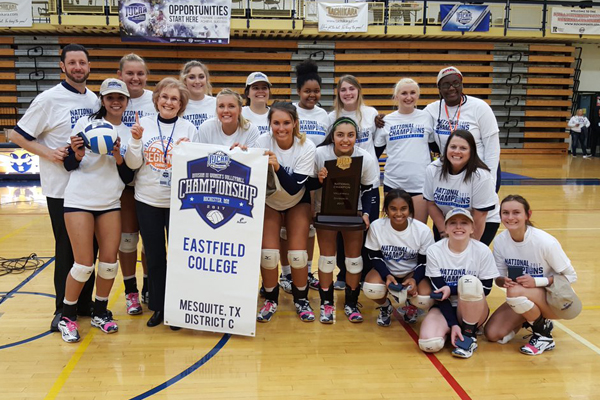 Eastfield wins NJCAA Division III National Championship