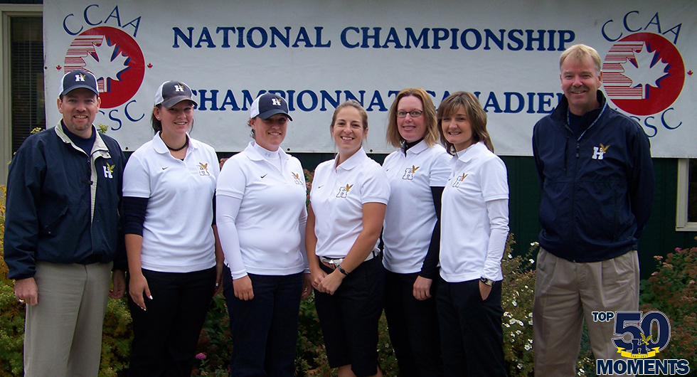 WOMEN'S GOLF SWEEPS PODIUM AT CCAA CHAMPIONSHIP