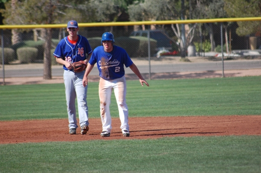 Baseball lets lead slip away in eighth inning against Springfield