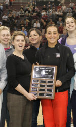 Santa Clara Women's Basketball Team Awarded the Comcast Community All-Star Award