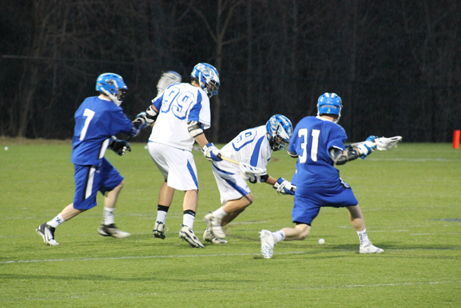 Men's Lacrosse Clips Monks, 4-2