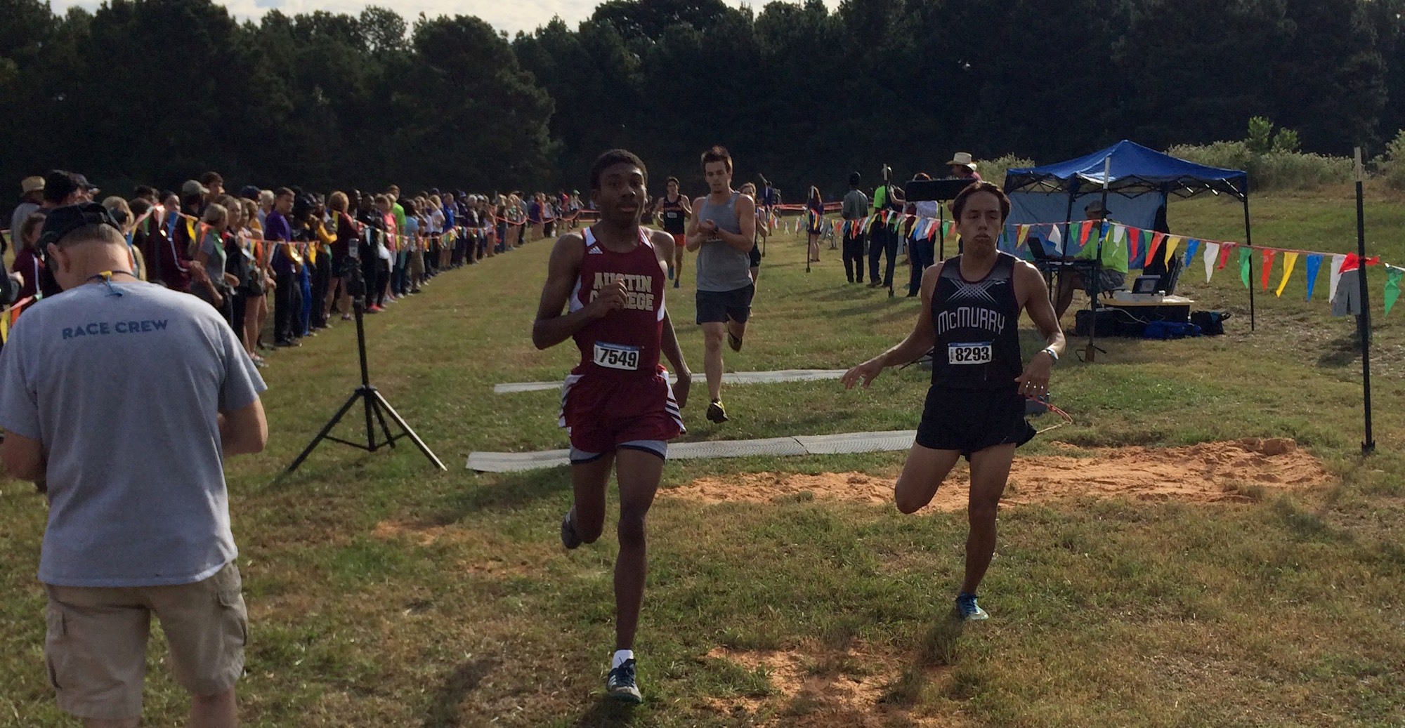 Men's Cross Country Runs Well at ETBU Meet