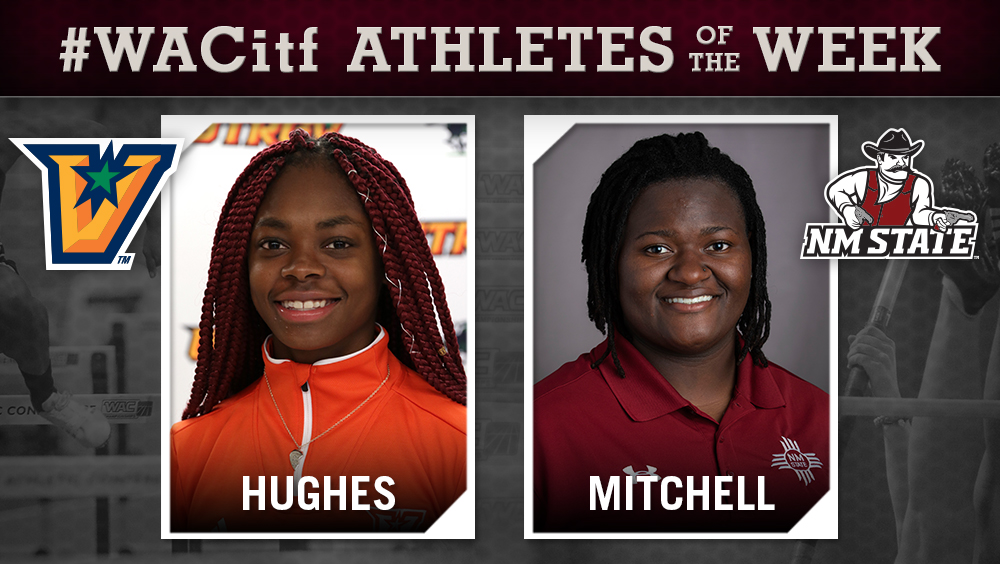 WAC Women's Indoor Track & Field Athletes of the Week Announced