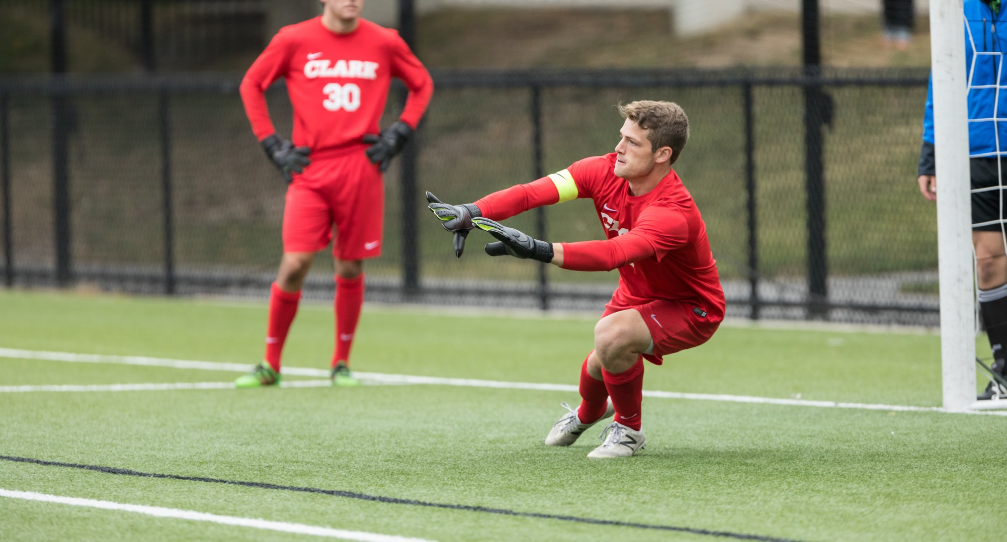Men's Soccer Shuts Out WPI in Conference Battle