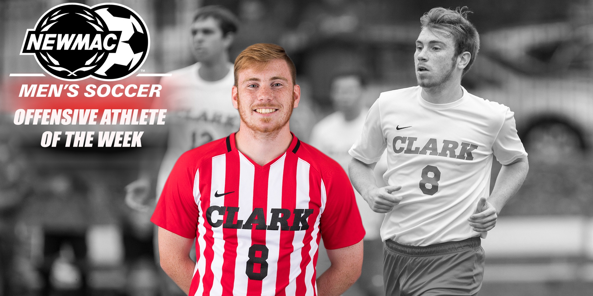 Lane Named NEWMAC Men's Soccer Offensive Athlete of the Week