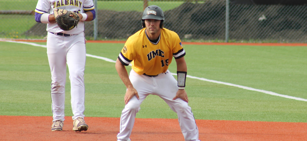 No. 3 UMBC Drops #AEBASE Tournament Opener, 8-5 to No. 6 Albany