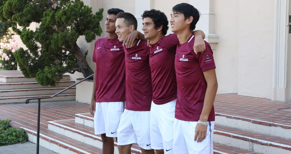 Men's Tennis Hosts LMU Friday, Pepperdine Saturday on Senior Day
