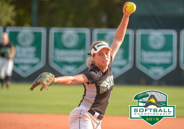 Hill's Complete Game over Jacksonville Advances USC Upstate in ASUN Softball Championship