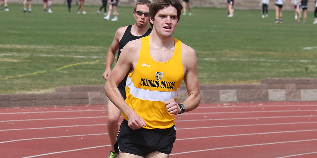 Tony Calderon, Colorado College, Men's Track Athlete of the Week (Week  6)