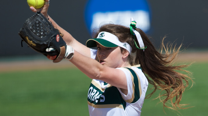 GEMS FROM STROUD AND BROOKS LEAD SOFTBALL TO SWEEP OF PORTLAND STATE