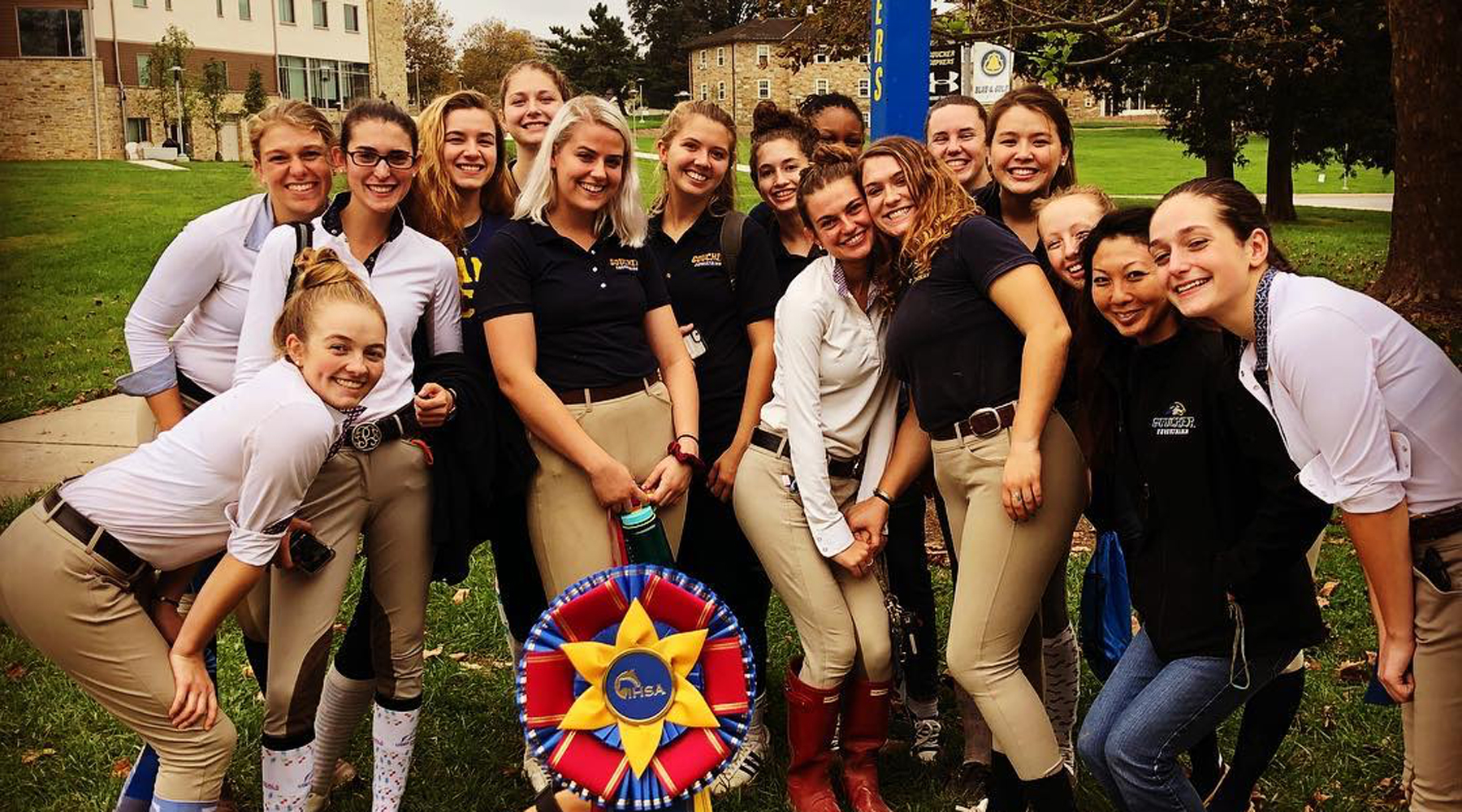Sloan Takes Reserve High Point Rider Honors; Equestrian Rolls in UMBC Show
