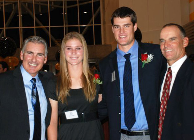 Scott Travers and Kelly Jenks Honored By SJ Hall of Fame