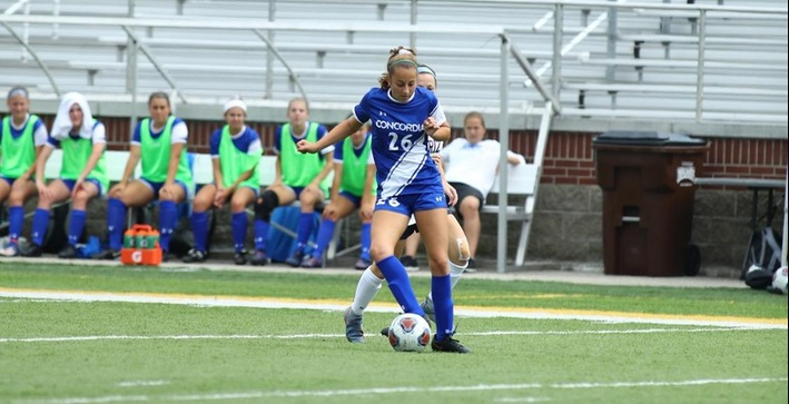 Haugland hat trick helps propel Falcons at Lake Forest