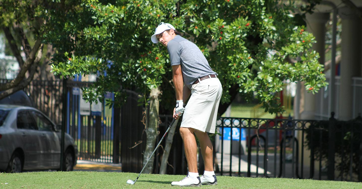 Rain Falling? Nope Records Falling for Men's Golf at Saint Leo Invite