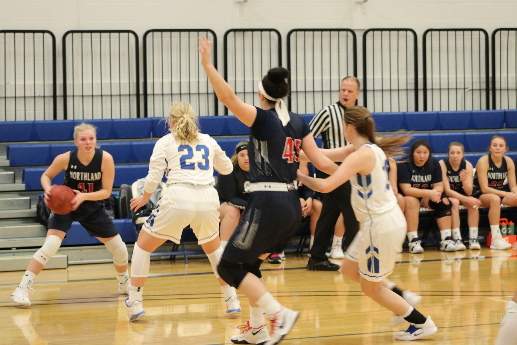 Lady Spartans Drop Southern Division Opener to Lady Jays