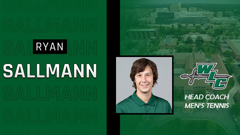 Sallmann Elevated To Head Men's Tennis Coach