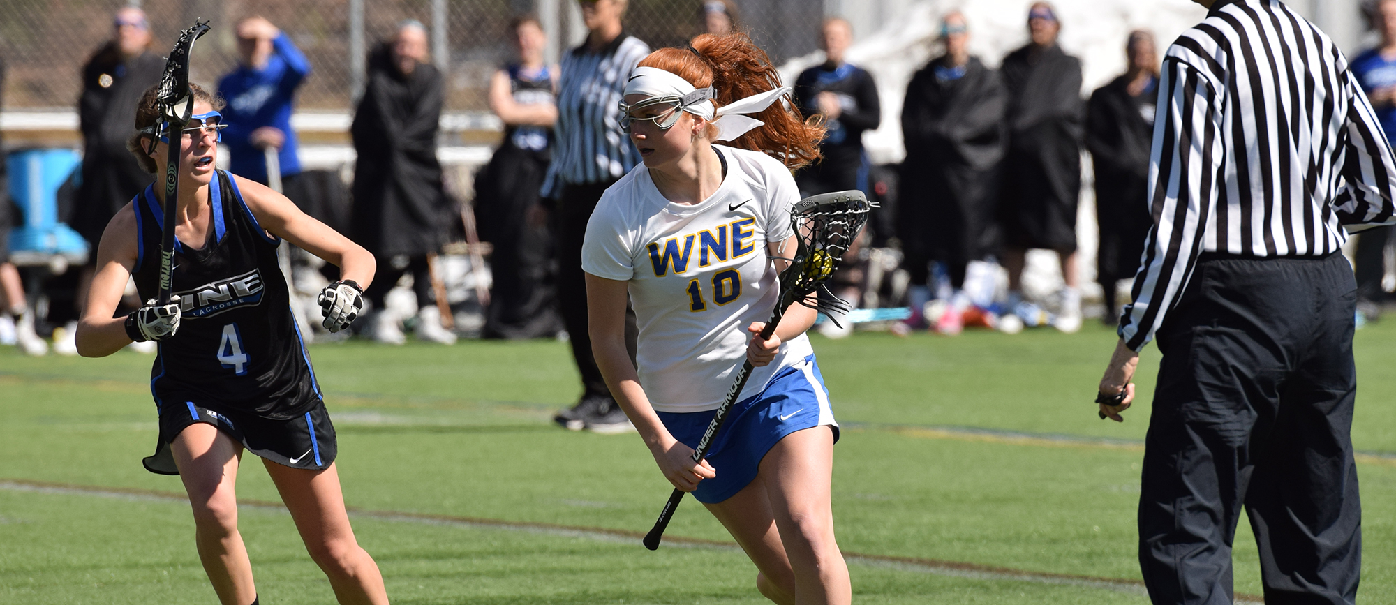 Fast Start, Strong Finish Help Golden Bears Register 11-7 Win at Curry