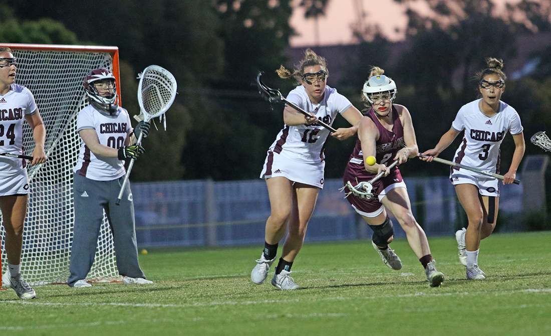 Maroon Women's Lacrosse Absorbs 20-12 Loss at Redlands
