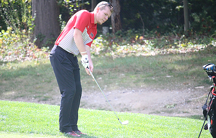 Dietz Leads Men's Golf in Season-Opening Meet