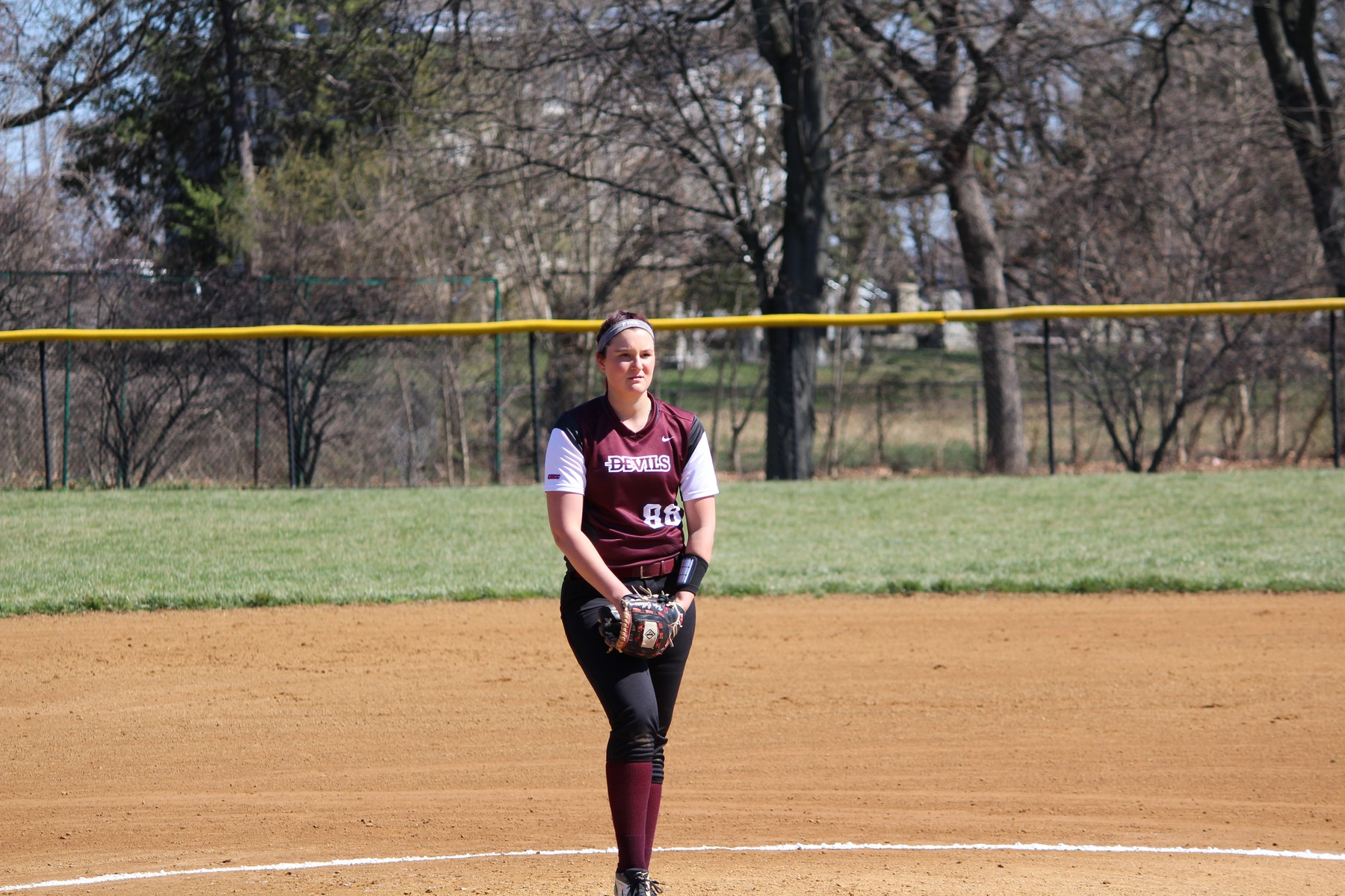 Softball Scores First; Drops Doubleheader to Shippensburg on Sunday