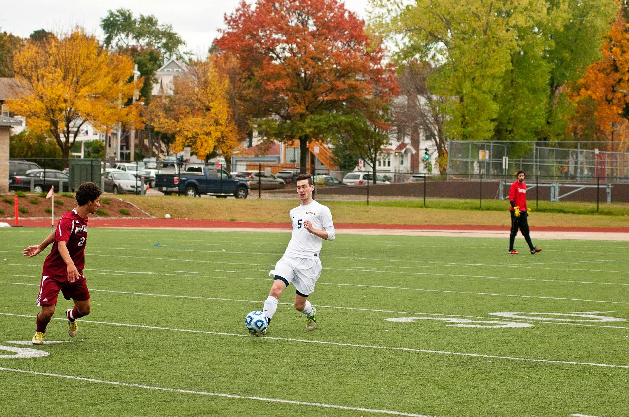 Road Tests at Regis, Lasell in Store for Men's Soccer