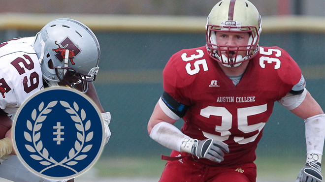 Austin College's Packard Named to NFF Hampshire Honor Society