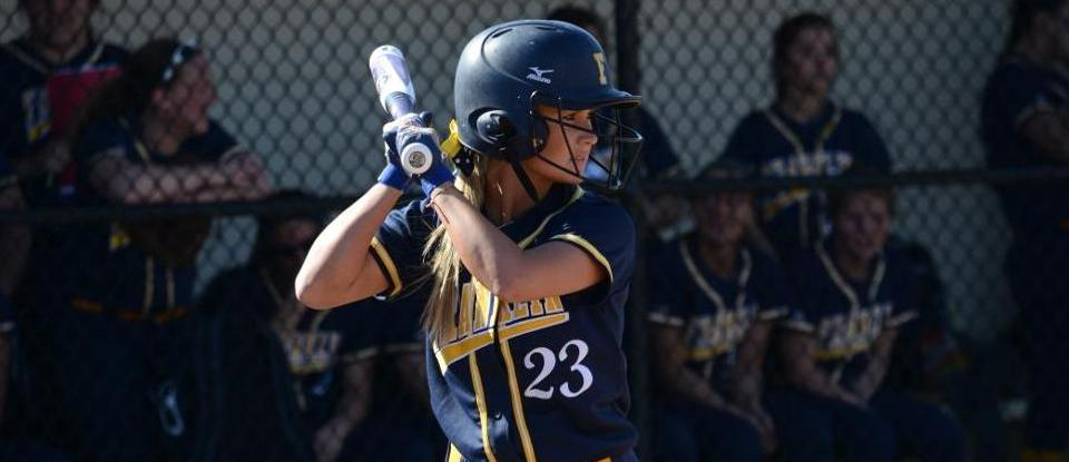 Late Rally Lifts Softball to Sweep of Adrian