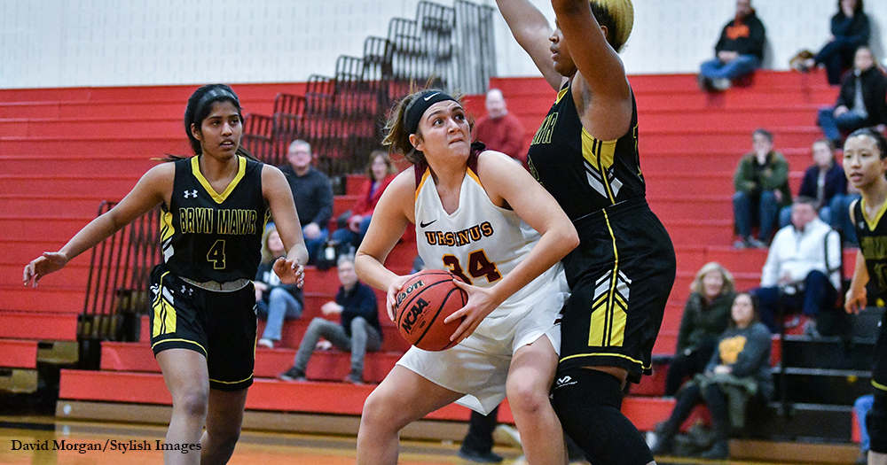 Women's Basketball Blows Past Bryn Mawr