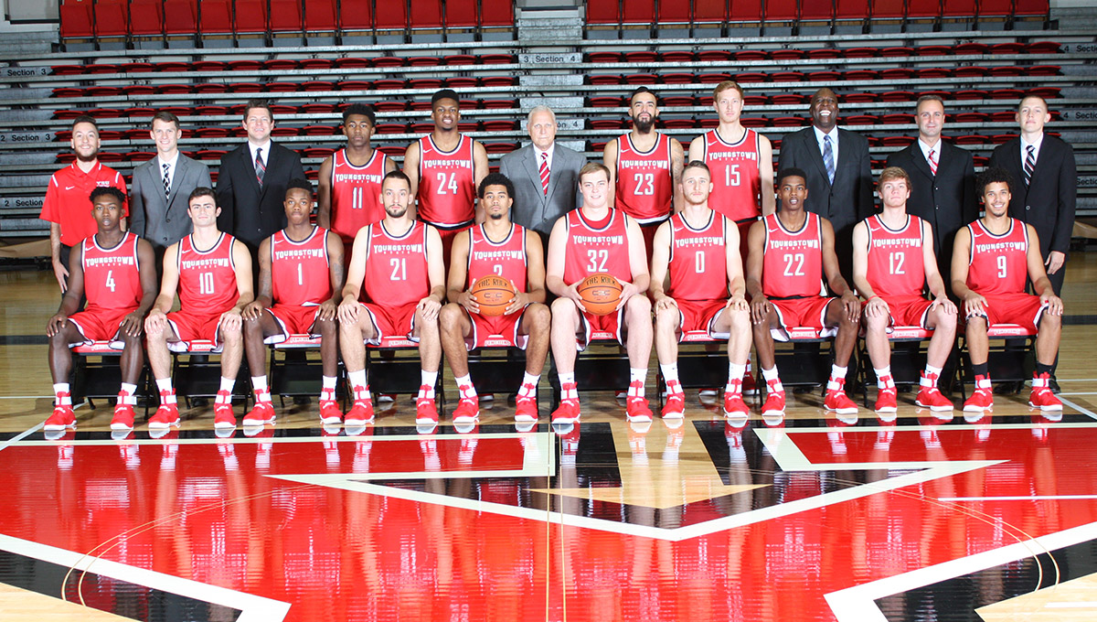 The 2016-17 Youngstown State Men's Basketball Team