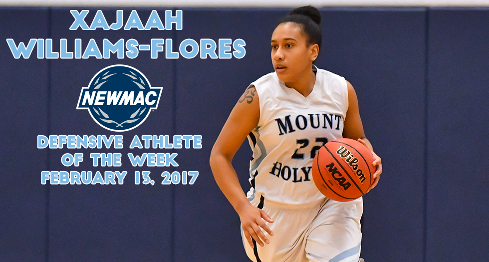Williams-Flores Named Defensive Athlete of the Week by the NEWMAC