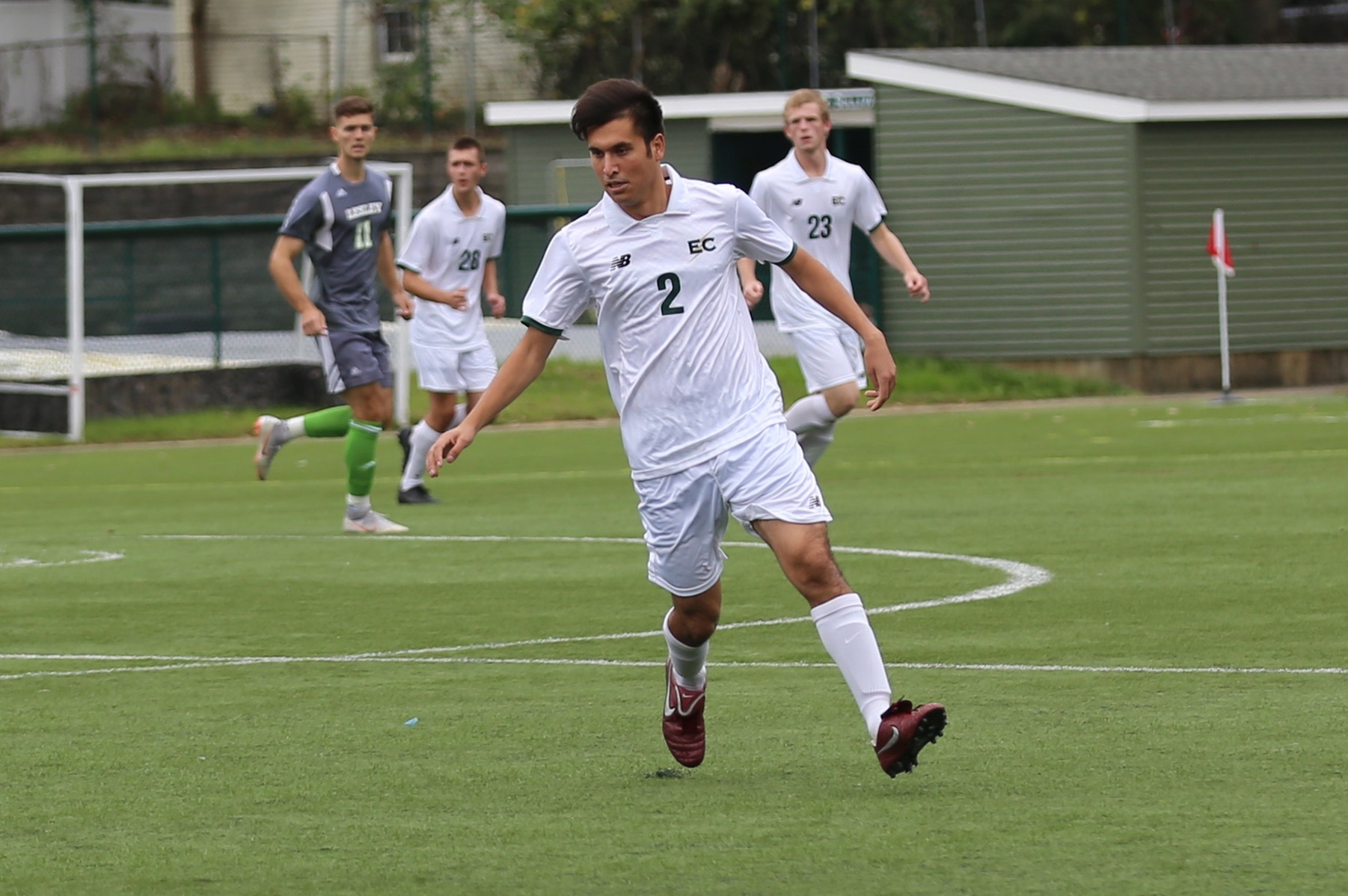 Men's Soccer Tripped Up At Home In NECC Opener