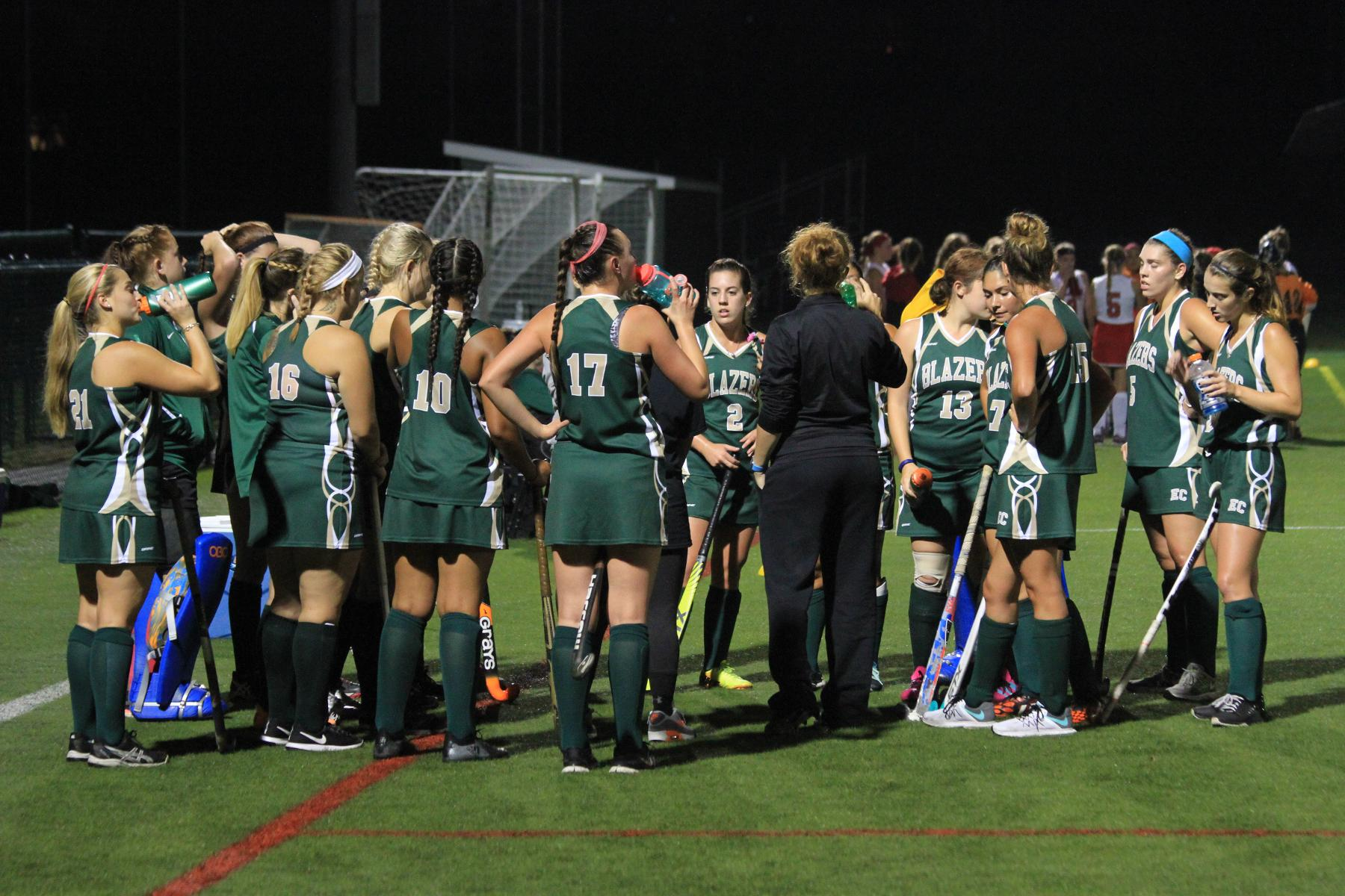 Late Penalty Stroke Lifts Regis Over Field Hockey In NECC Championship