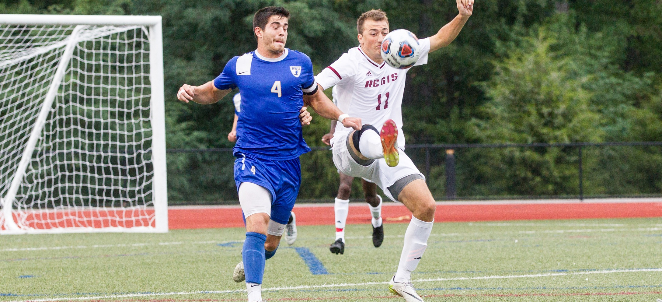 Men's Soccer Dominates Lasell In GNAC Action