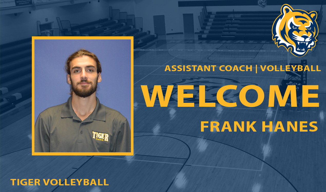 Frank Hanes Named Assistant Volleyball Coach