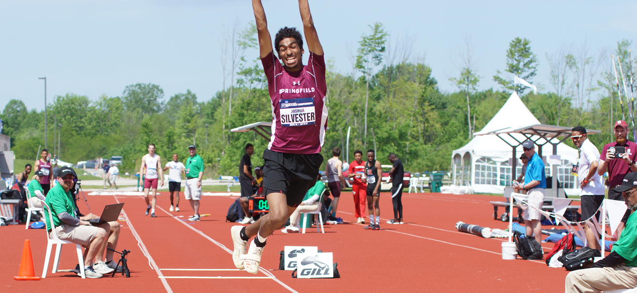 Silvester and Tryon Compete in Men's Triple Jump at NCAA Division III Track and Field Championships