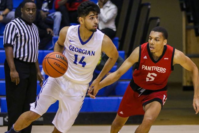 MEN'S BASKETBALL PULLS OUT BIG WIN OVER CANADORE