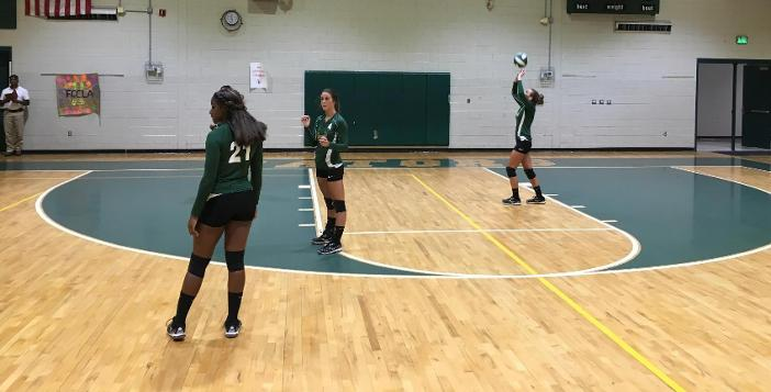 Lady Gator Volleyball Team Wins Two Matches