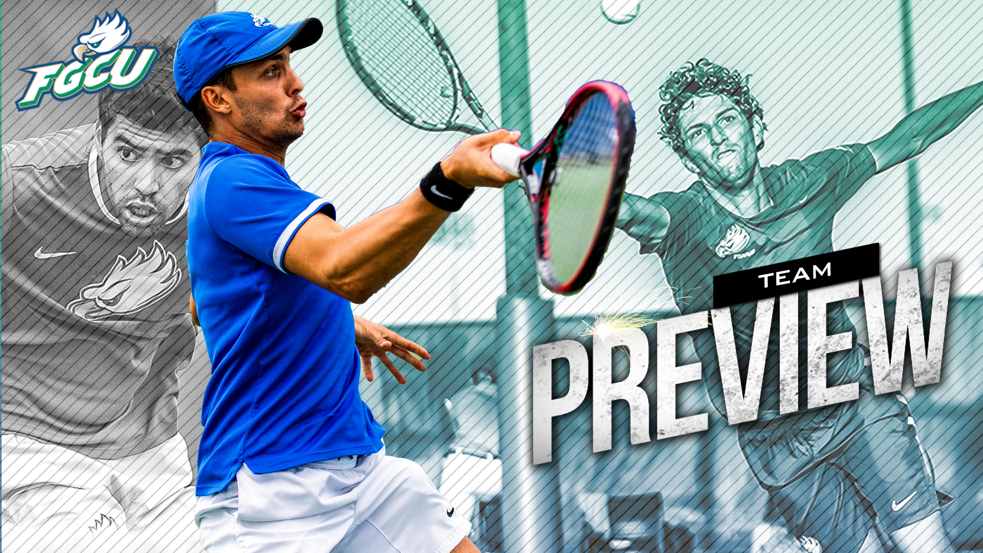 2020 Men's @ASUNTennis Season Preview: FGCU Eagles