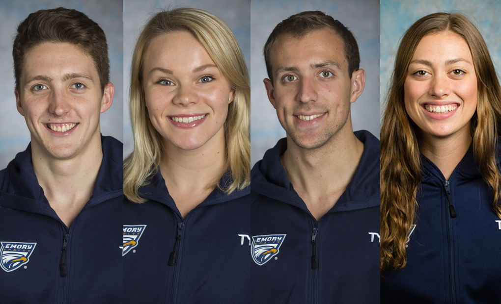 Four Swimmers Named to Google Cloud Academic All-America Teams