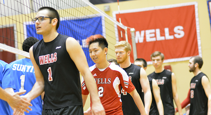 Men's Volleyball Defeats Hilbert, Falls To D'Youville In Five