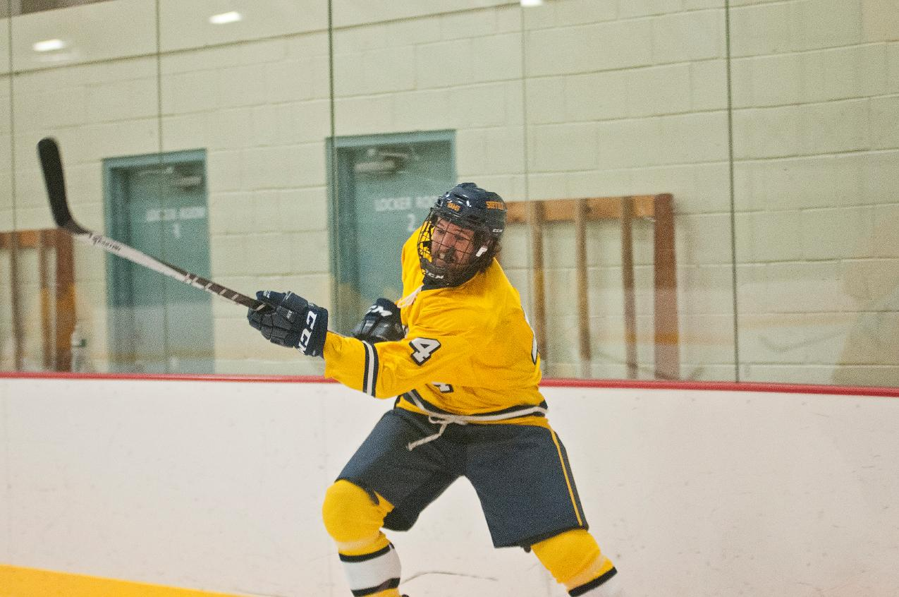 Hockey Escapes from Assumption in Overtime Season Opener, 4-3