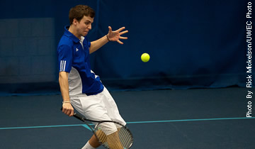 Men's Tennis Picks Up Pair of Victories