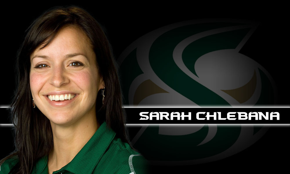 SARAH CHLEBANA RETURNS AS ASSISTANT VOLLEYBALL COACH