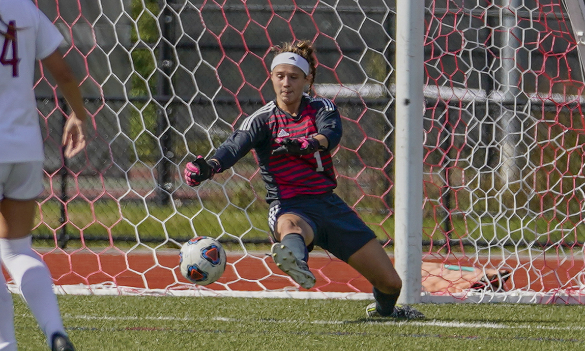 Regis Women's Soccer Loses at Lasell